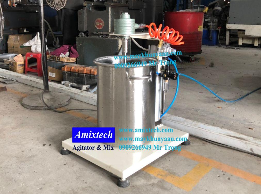máy khuấy khí nén 20 lít