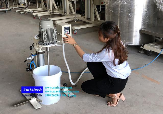 máy khuấy thùng sơn nước 20 lít