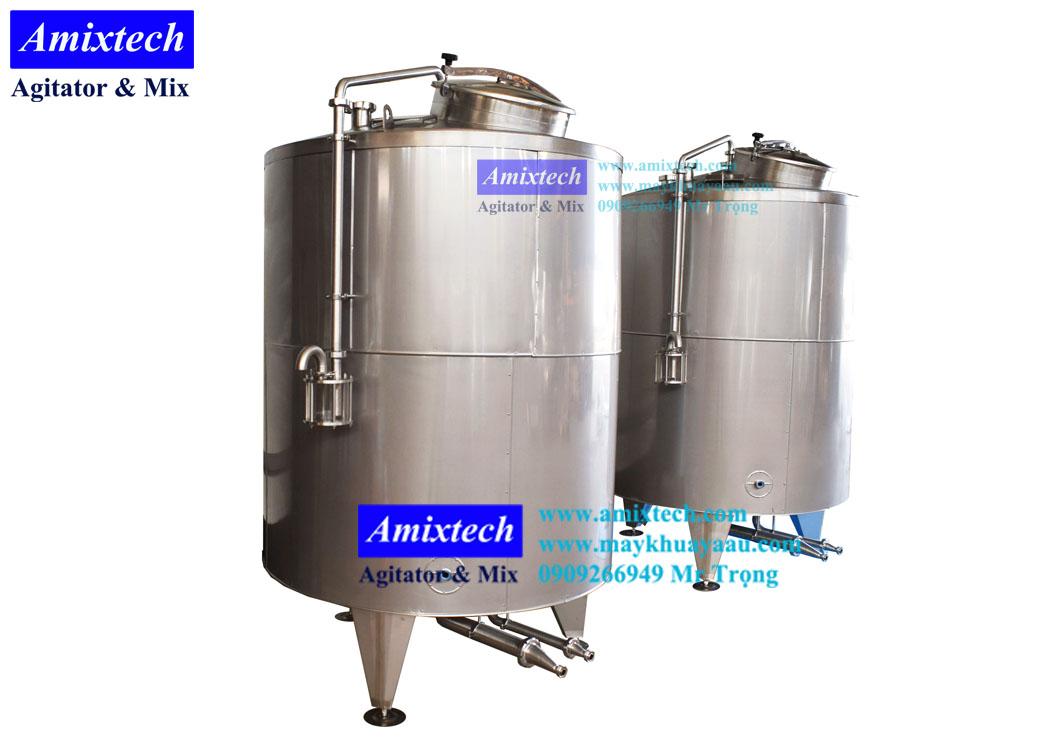 bồn chứa dung môi cách nhiệt Amix-B12
