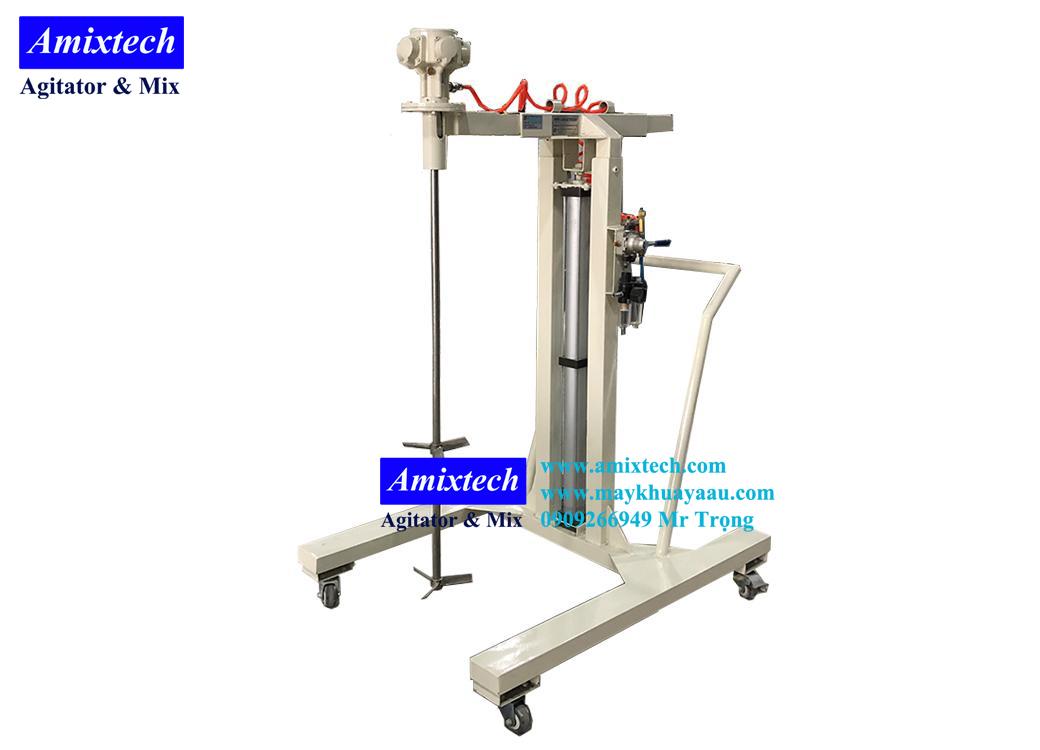 máy khuấy khí nén 200 lít amix-k03